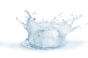 Water ,water splash isolated on white background
