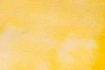 yellow art painted background texture
