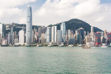 Гонконг, общий вид острова