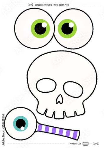 picture regarding Halloween Photo Booth Props Printable Free identify Halloween assortment Printable Picture Booth Prop\