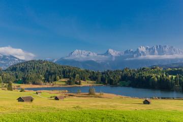 Wagenbrüchsee in den Bayrischen Alpen
