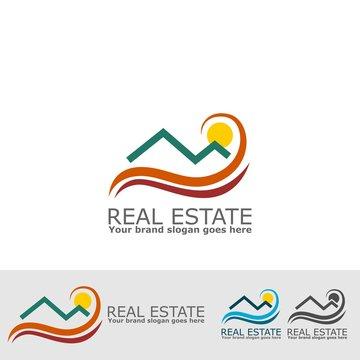 real estate summer logo