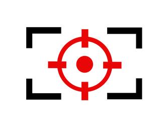 Camera Focus line icon