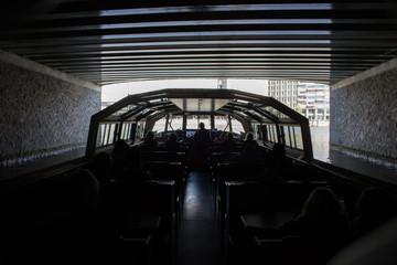 Bootsfahrt auf den Grachten in Amsterdam