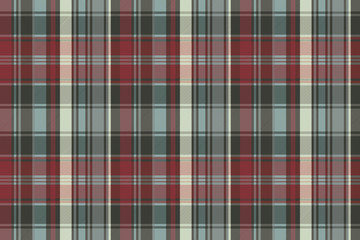 Abstract check plaid seamless pattern
