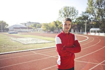 Runner portrait