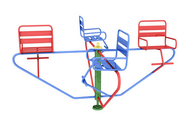 Sitzkarussell, Freisteller