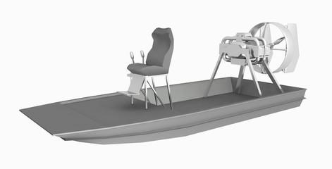 Sumpfboot, Freisteller