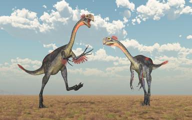 Dinosaurier Gigantoraptor