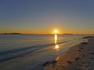 Sunset, Landeda Brittany