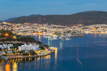 Beautiful Bodrum after sunset