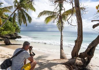 Landschaftsfotograf in Samana / Karibik: Fotografieren am Meer vor traumhaft schöner Kulisse, Trauminsel, Traumurlaub :)