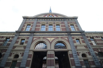 Building of the royal stables of king Willem-Alexander in The Hague, the Netherlands.