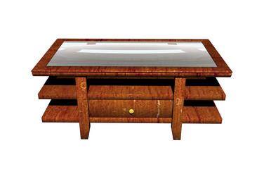 Bilder und videos suchen beistelltisch for Holztisch mit glasplatte