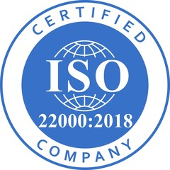 ISO 22000-2018_Food safety management systems blue