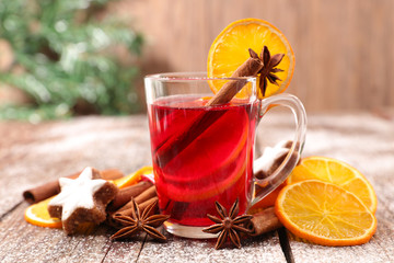 christmas tea or mulled wine