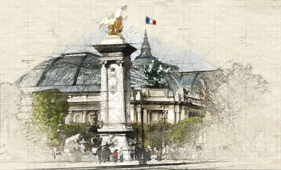 Parisian Grand Palais