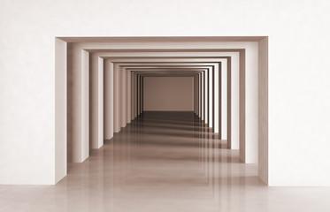 architecture contemporaine 3D