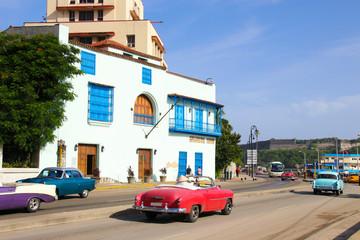 Havanna, Old Cars, Streetlife
