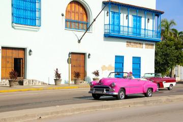 Havanna, Old Car, Streetlife