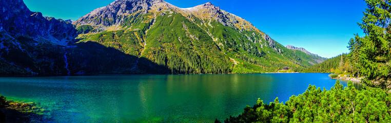 Fototapeta Morskie Oko in Tatry mountains obraz