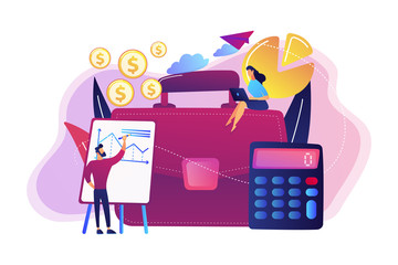 Accounting concept vector illustration.