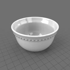 Classic dinnerware bowl