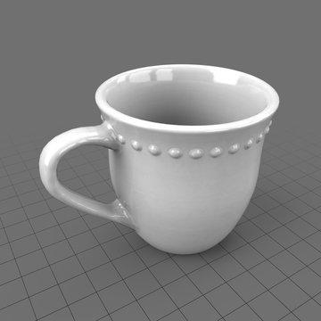 Classic dinnerware cup