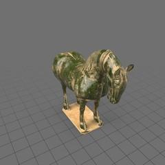 Classical horse sculpture