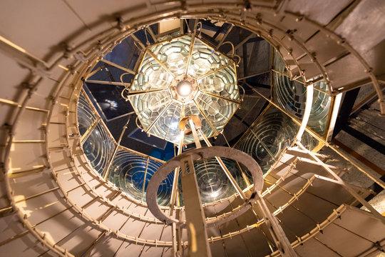 Old Cordouan lighthouse Fresnel lens