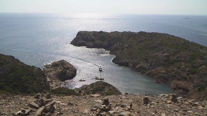 Fotomurales - Landscape of the great Cap de Creus in Costa Brava. Spain.