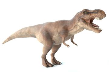 3d illustration of a tyrannosaurus rex dinosaur