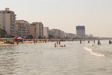 Beach in Durres