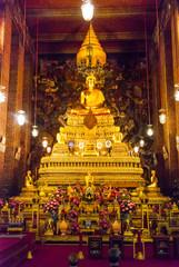 Golden Buddha at Wat Phra, Bangkok