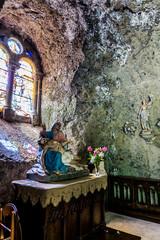 Intérieur de la Chapelle Monolithe de Fontanges