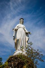La Vierge Marie de la Chapelle Monolithe de Fontanges