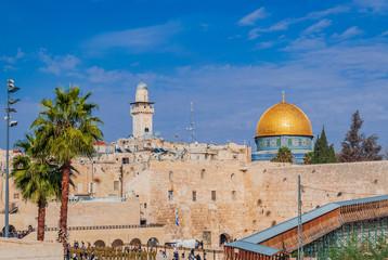 Mosque of Al-aqsa in Jerusalem, Israel