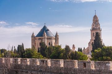 Dor Mzion, Hagia Maria Sion Abbey. Jerusalem