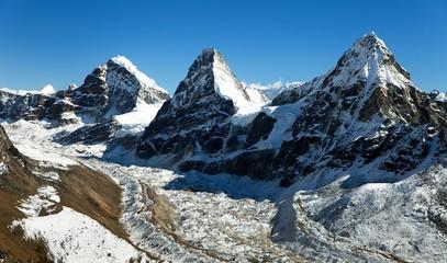View of Nepal Himalayas mountains