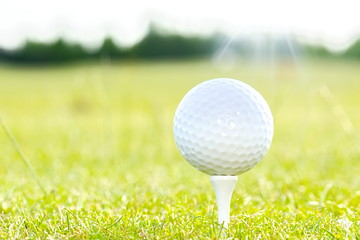 golf course background