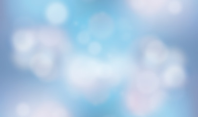 Abstract color bokeh background