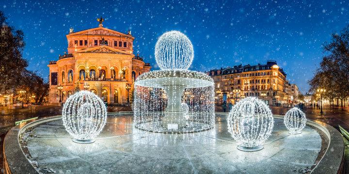 Alte Oper in Frankfurt am Main, Hessen, Deutschland