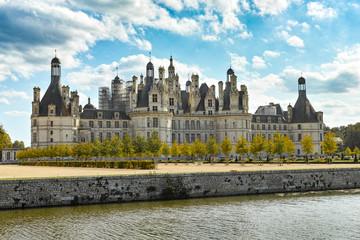 Chateau de Chambord, panoramic view