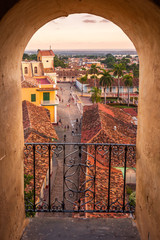 View of Trinidad (Cuba) from the Convent of Saint Francis of Assisi tower
