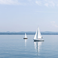 Segel, Segelboot, See, Meer