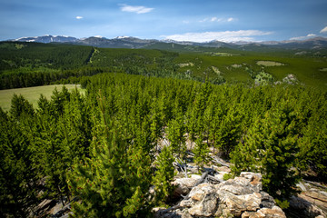 The Cloud Peak Wilderness of the Bighorn National Forest