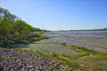 An der Elbe in Cranz