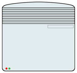 Convection heater for home
