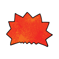 cartoon doodle big  bang explosion