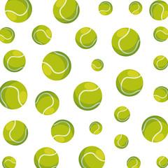 tennis sport ball pattern